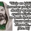SİZİN EN KÖTÜNÜZ…
