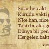 YUNUS'TAN ŞİİRLER