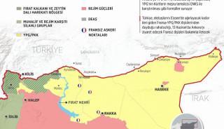 Fransa'nın terör örgütü PKK/YPG'ye desteği sürüyor
