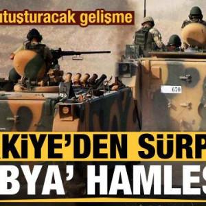 Libya'da sürpriz gelişme! Türkiye gönderdi