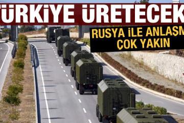 S 400′ ler Türkiyede üretrilecek…
