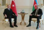 Erdoğan ve Azerbaycan Cumhurbaşkanı Aliyev ortak basın toplantısı düzenledi